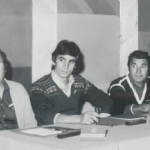 antonio cavanna ad un corso organizzato dalla mercedes negli anni settanta