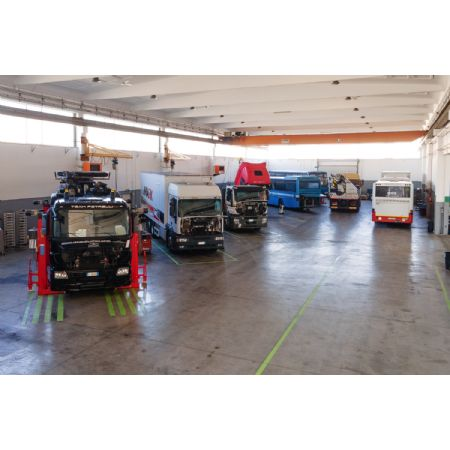 Riparazioni veicoli industriali ed autobus